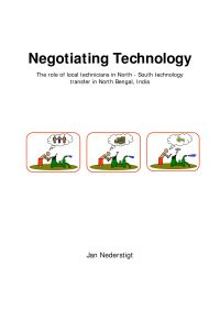 Negotiating Technology – The role of local technicians in North – South technology transfer in North Bengal, India