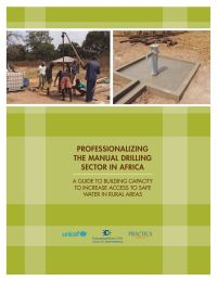 Well drilling: Professionalizing the sector