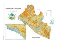 Feasibility Map of Manual Drilling – Liberia