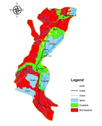 Feasibility Map of Manual Drilling in Ziway, Ethiopia
