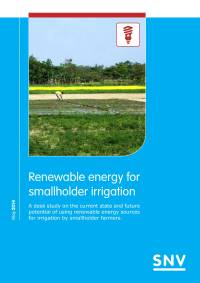 Renewable energy for smallholder irrigation