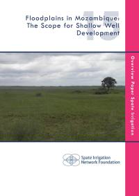 Floodplains in Mozambique: The Scope for Shallow Well Development (cover)