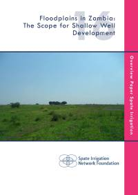 Floodplains in Zambia: The Scope for Shallow Well Development