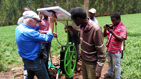 training solar pumps