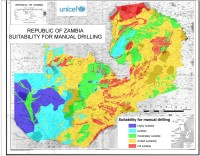 Feasibility Map of Manual Drilling – Zambia
