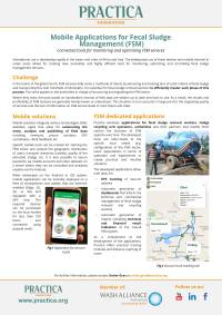 Mobile Applications for Fecal Sludge Management (FSM)